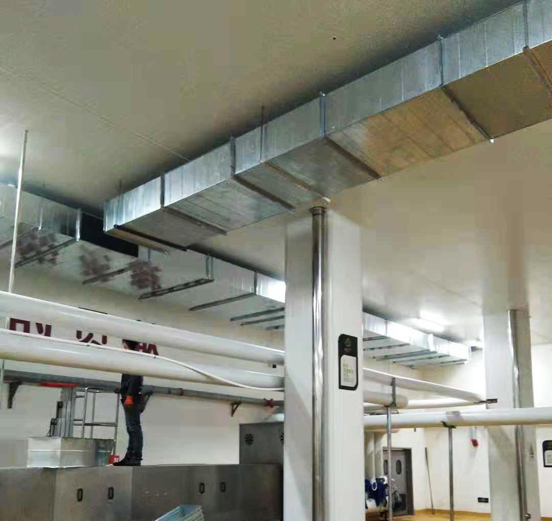 通风管道安装施工案例
